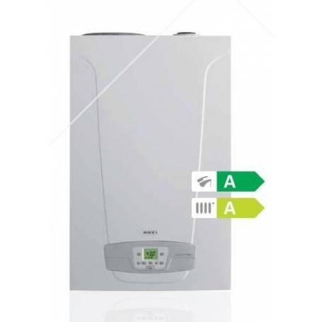 Caldaia Baxi Nuvola Duo-Tec+ 33 GA VES A Condensazione Con Accumulo 40 LT Completa Di Kit Fumi