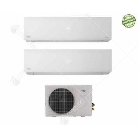 Condizionatore Dual Split Inverter Beko 9000+12000 CON BKFO160
