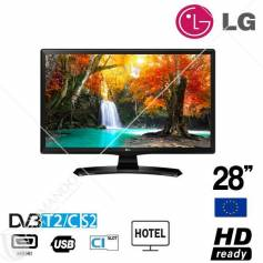 "Lg Monitor Tv 24"" Led Hdready T2/S2 24MT49VW White Eu"