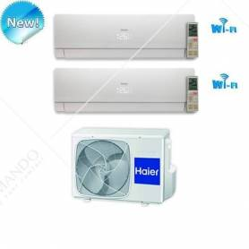 Condizionatore Dual Split Inverter Haier Nebula White 7000+7000 WIFI Ready +2U18FS2ERA(S)