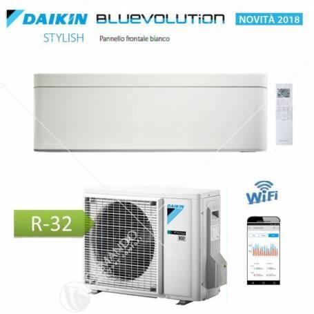 Condizionatore Daikin Bluevolution Inverter Stylish White 7000 BTU WI-FI R-32 FTXA20AW