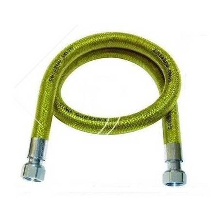TUBO FLESSIBILE GAS IN ACCIAIO INOX 1/2' F/F RIVESTITO IN PVC