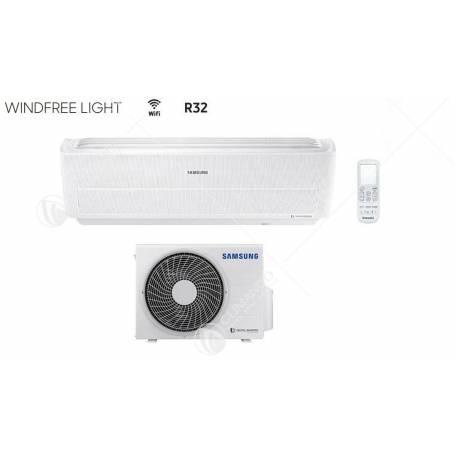 Condizionatore Climatizzatore Samsung inverter Serie Windfree Light R-32 Smart WIFI AR12NXWXCWKNEU 12000 BTU