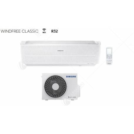Climatizzatore Condizionatore Samsung Inverter Windfree Classic R-32 9000 BTU AR09NXPXBWKNEU WI-FI