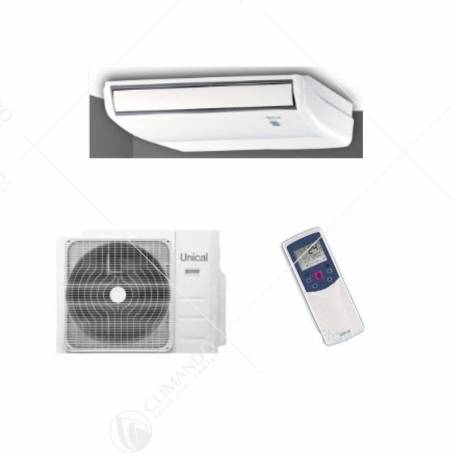 Condizionatore Climatizzatore Unical Monosplit Soffitto/Pavimento PS09 18H 18000 BTU