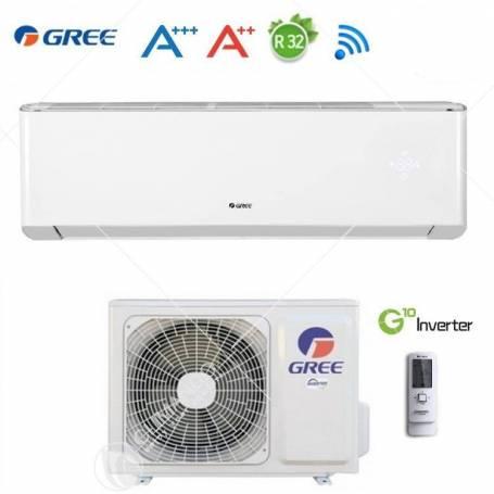 Condizionatore Climatizzatore Gree Monosplit Inverter Serie Amber R-32 Wi-Fi 9000 BTU