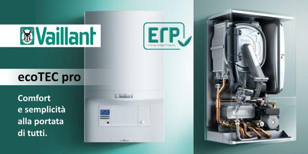 Caldaia Vaillant Ecotec Pro Vmw 286 5 3 A Condensazione Completa Di Kit Scarico Fumi Erp