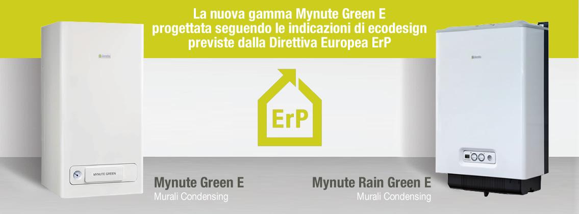 Caldaia Beretta Mynute Green E 25 Csi A Condensazione Erp Completa